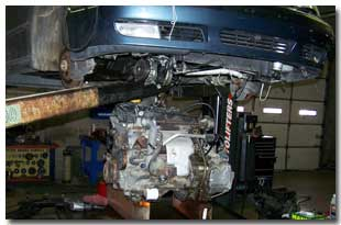 Engine Removal & Replacement